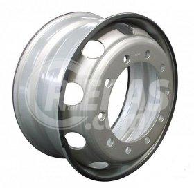 Disks 9.00x22.5 335-10 ET161 281 Xingmin Silver LT2666A